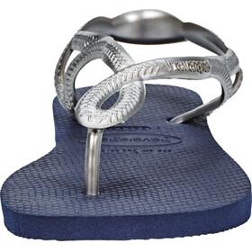 havaianas Luna Sandals Women navy blue/silver